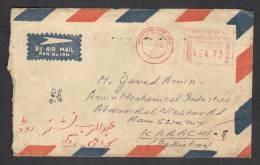 Meter Franking Postal History Cover From BANGLADESH 7-4-1992 - Bangladesh