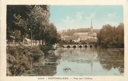 Montbéliard : Vue Sur L'Allan. 2 Scans. Edition CLB - Montbéliard
