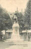 Montbéliard : Statue Denfert Rochereau (animation). 2 Scans. Edition Tallat - Montbéliard