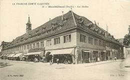 Montbéliard : Les Halles. 2 Scans. Edition BF Tallat - Montbéliard