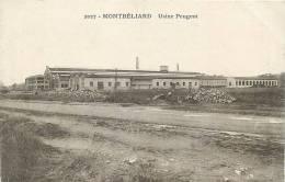 Montbéliard : Usine Peugeot. 2 Scans. Edition Gaillard Prêtre - Montbéliard