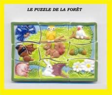 Fève  PERSO 2012 LE PUZZLE DE LA FORET   Série Complète - Fèves