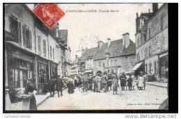 45 - CHATILLON SUR LOIRE - PLACE DU MARCHE - Chatillon Sur Loire