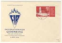 DDR Michel No. 538 Y II gestempelt used auf Brief