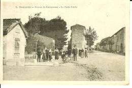 CPA  DOUZENS, Avenue De Carcassonne, Le Poids Public  6379 - Altri Comuni