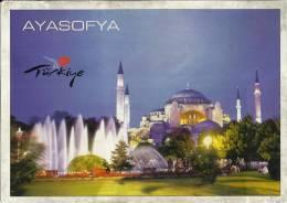 TURKEY ISTAMBUL.. CHURCH--MOSQUE--ERA BIZANTY - Turquie
