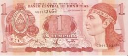 BILLETE DE HONDURAS DE 1 LEMPIRA AÑO 1997 (BANKNOTE) SIN CIRCULAR-UNCIRCULATED - Honduras