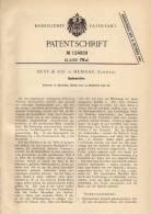 Original Patentschrift - Buff & Co In Herisau , 1900 , Spulmaschine !!! - Machines