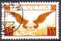 Zu 14z / Mi 233z / YT 13 Obl. ST IMIER SBK 75,- - Poste Aérienne