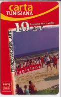 Carte De Recharge Tunisiana (beach Volley ) - Tunisie
