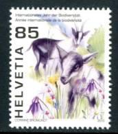 SVIZZERA / HELVETIA 2010** - Anno Intern. Biodiversita' - 1 Val. MNH Come Da Scansione - Nuovi