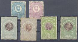 Montenegro Government Stamps Novc,Para,Heller,Krune,Perper Values MNH,MH **/* - Montenegro