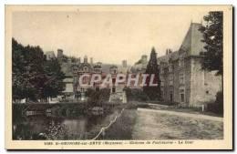 CPA St Georges Sur Erve Chateau De Foulletorte La Cour - Sin Clasificación