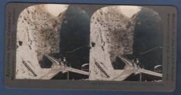 FOTO ESTEREOSCOPICA IGUALA BRIDGE AND CANYON - MEXICO - CUERNAVACA RAILROAD - 29 - 10839 - Fotos Estereoscópicas