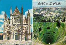 TERNI - SALUTI DA ORVIETO - VG 1971 VEDUTINE SALUTI DA - Terni