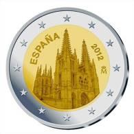 ** 2 EURO ESPAGNE COMMEMORATIVE 2012PIECE NEUVE ** - España