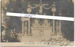 ANLIER-EDIT. E. GAVROY-HABAY-CARTE-PHOTO- ANIMEE-SUPER-RARE-CARTE  ENVOYEE 1904--VOYEZ 2 SCANS! ! ! - Habay