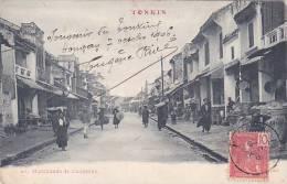 CPA TONKIN Marchands De Chapeaux - Viêt-Nam