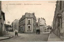 71. Chalon. Rues Glorieuse Et Lamartine - Chalon Sur Saone