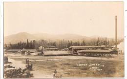CPA Libby  Dawson Lumber Co Scierie Charpente Charpentier  Montana Etats Unis - Etats-Unis
