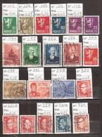 Timbre Norvège Lot N° 1. Obl. D´avant 1953. Cote 3.60 € - Sin Clasificación