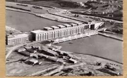 DONZERE MONDRAGON  USINE ELECTRIQUE CENTRALE HYDRAULIQUE LES ECLUSES CANAL DU RHONE 1950 - Donzere