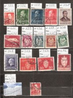 Timbre Norvège Lot N° 4. Obl. De 1958 à 2004. Cote 6.15 € - Sin Clasificación
