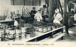Industrie Sardinière En Bretagne, Huilage - Douarnenez