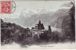 Lucerne Brunnen Hôtel Axenfels - LU Lucerne