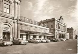 ~   51  ~  REIMS . La Gare + Pub Pour La Biére SALVIA +    Voitures !!!!!!!~   Cp Sympa Et Pas Cher  ~ - Reims
