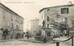 SAINT-MICHEL PLACE DE LA FONTAINE 04 BASSES-ALPES - France