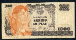 1968 Singapore 1000 Rupiah Banknote In Nice Circulated Condition - Singapore