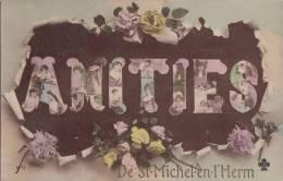¤¤  -  SAINT-MICHEL-en-L'HERM  -  Amitiés  -  Carte Fantaisie  -  Fleurs  -  ¤¤ - Saint Michel En L'Herm
