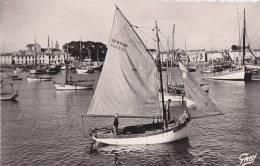 ¤¤  -  8   -  ILE D'YEU   -  Le Port   -  Bateaux De Pêche , Voiliers  -  ¤¤ - Ile D'Yeu