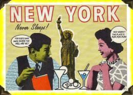 Post Cart   -   New York Fun City - Advertising