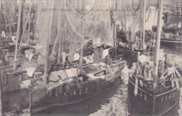 ¤¤  -   ILE D´YEU   -  Coin Du Port Après Une Rentrée De Pêche  -  Bateaux  -  ¤¤ - Ile D'Yeu