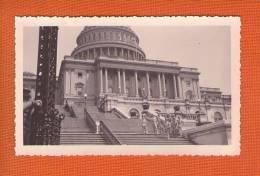 1 Photo Militaire Aviateur Francais Capitole Washington Dc 1945 - Personnes Anonymes