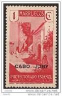 CJ67-L3513TARI.Maroc.Maro Cco.CABO JUBY  ESPAÑOL SELLOS DE MARRUECOS 1935/6  (Ed 67*) Con Charnela.MAGNIFICO. - Islam