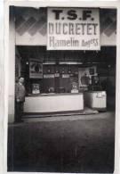 """Angers 49..belle Photo(17,5 / 11,5 ) T.S.F."""" Ducretet ,hamelin""""..interieur Du Stand.. A Angers - Métiers"""