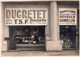 """Angers 49..belle Photo(16,5 / 12 ) T.S.F."""" Ducretet ,hamelin""""..devanture Magasin.. A Angers - Métiers"""
