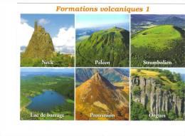 Formations Volcaniques : Neck, Orgues, Protusion,péléen,lac De Barrage, Strombolien - Auvergne