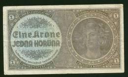 A1281) Böhmen & Mähren Bohemia & Moravia 1K Schein