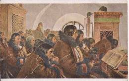JOZA UPRKA LITERACI (PEINTRE DE MORAVIE 1861 1940) CPA DESSIN 709 - Tchéquie