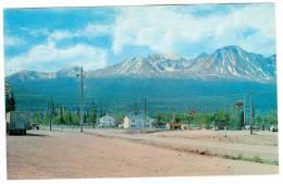 Haines Junction , Yukon, Canada , Y.T. , 50-60s ; Alska Highway Mile 1016 - Yukon