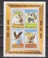 Sambia / Zambia 1979 Mi. B 5** MNH - Year Of The Child - Zambia (1965-...)