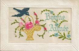 Bonne Année Handgestickt : 30.12.1927  (pk Aa3 Ch13) - BE Berne