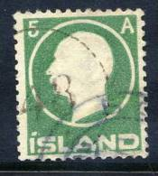 ICELAND 1912 Frederik VIII 5a. Used.   Michel 69 - 1873-1918 Danish Dependence