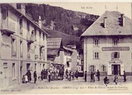 Abriès    Départ Du Courrier  Diligence - France