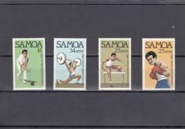 Samoa Nº 517 Al 520 - Samoa