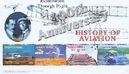 ANTIGUA & BARBUDA  2687 MINT NEVER HINGED MINI SHEETS HISTORY OF AVIATION     ( - Airplanes
